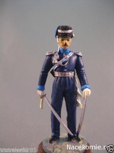 Napoleoniс War Tin soldier 54 mm Chief officer Ukrainian Cossack regiment,1812 #gefabbri