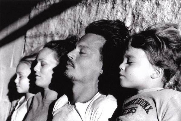 Pics For > Vanessa Paradis Lily Rose Jack | JOHNNY DEPP ...