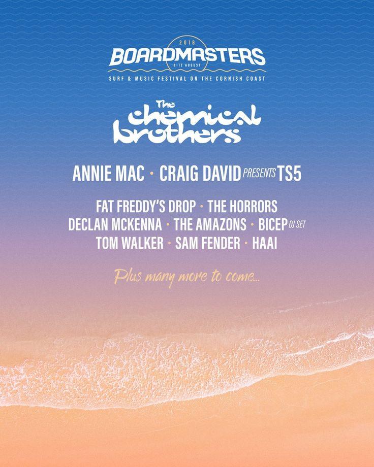 Boardmasters Festival 2018 Line Up