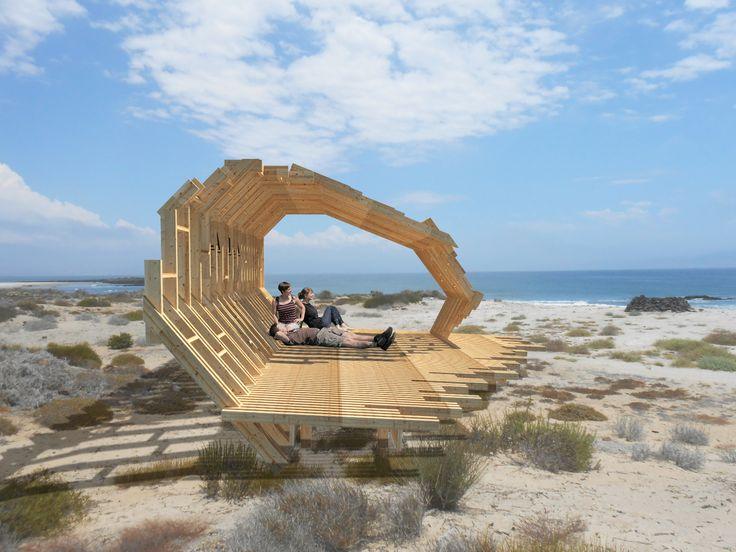 Galería de Estaciones Interpretativas: intervenciones en reserva natural de Baja California, México - 8
