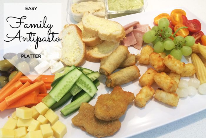 Easy Family Antipasto Platter – the Perfect Throw-Together Meal!