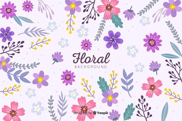 Download Hand Drawn Colorful Floral Background For Free Floral Background Watercolor Flowers Wedding Invitation Watercolor Flower Wedding
