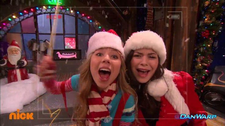 Freddie the Christmas Flashlight | iChristmas | iCarly | Dan Schneider