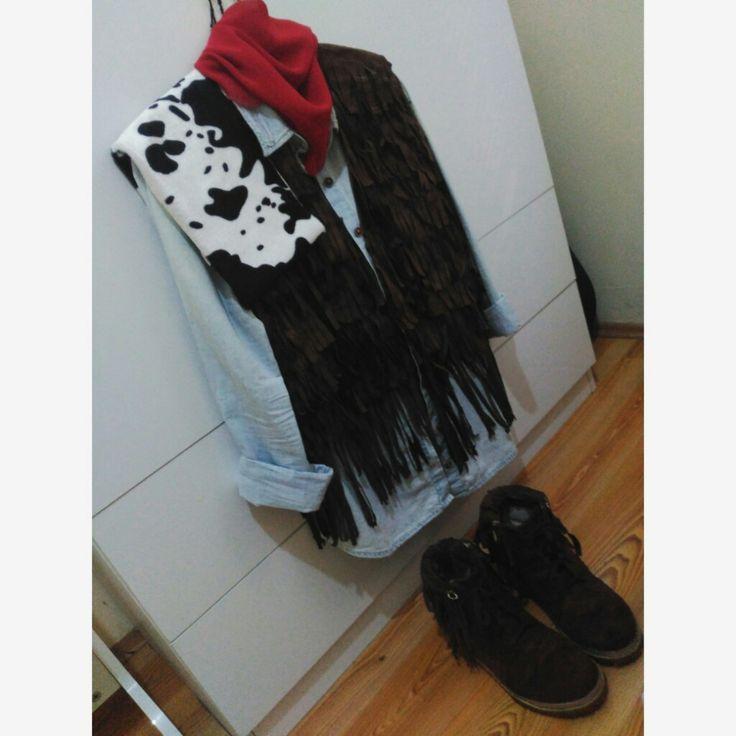 💥#cowboy#costume#kostuum #red ✨