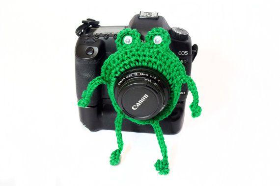 Frog Camera Buddy Froggie