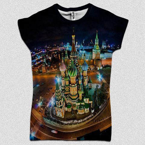 Moscow T-Shirt – Simple Clothing