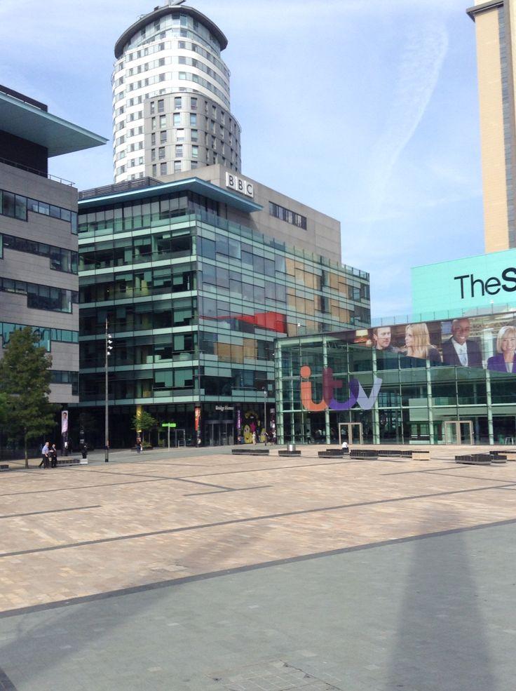 MediaCityUk, Manchester - Summer 2014