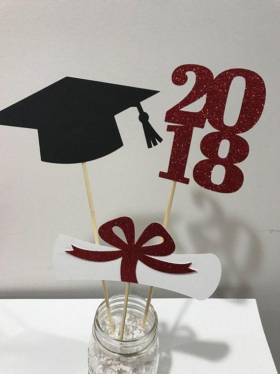 2020 Graduation Party Supplies.Graduation Party Decorations Graduation Centerpiece Cap