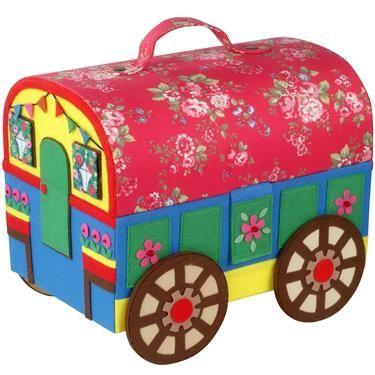 Trailer / Caravan Sewing Basket