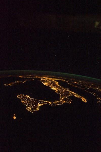 Italy by night