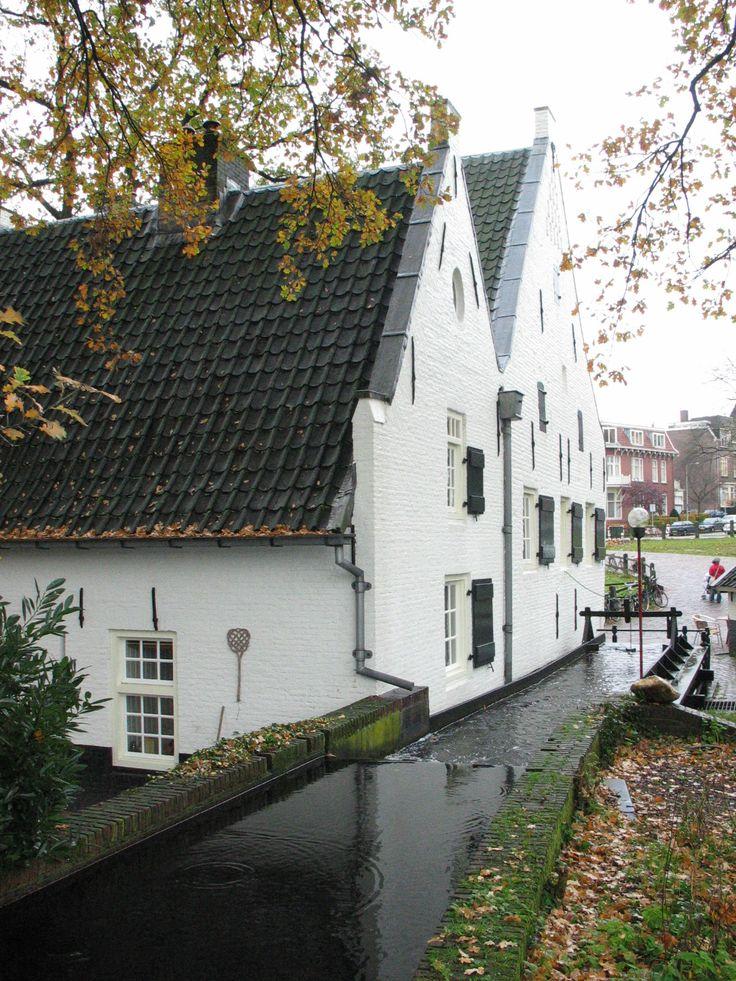 Witte Watermolen, Sonsbeek, Arnhem, Gelderland-The Netherlands