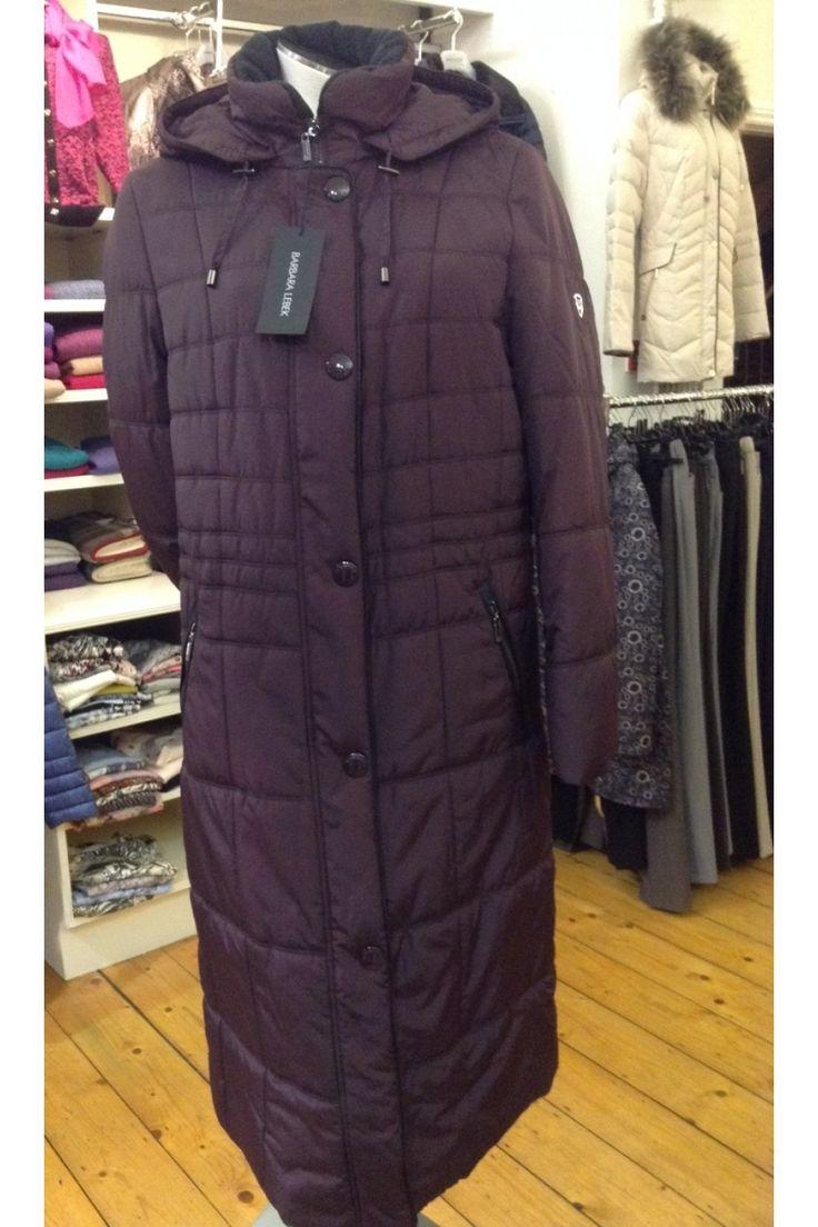 Lebek Aubergine Duvet Coat
