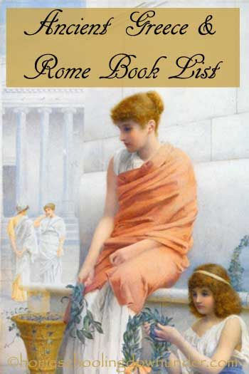 Books list on Ancient Greece and Rome for kids. Fictional stories set in this period including early church times.