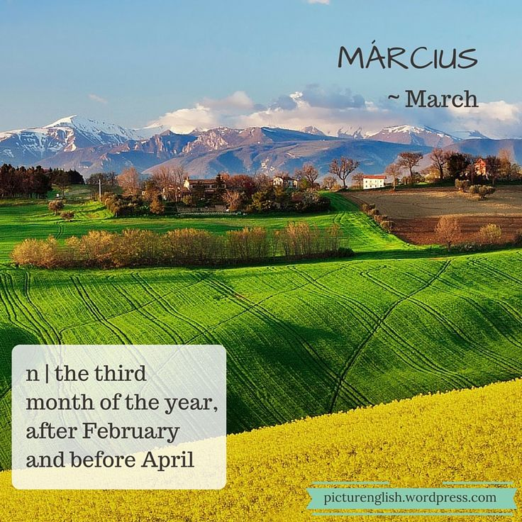 March / Március