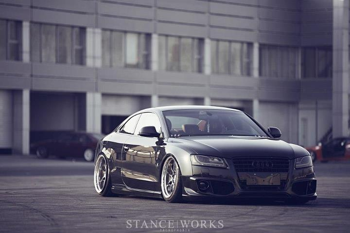 Stanced Audi S5 | Favorite European Cars | Pinterest | Cars, Audi s5 and Vehicles