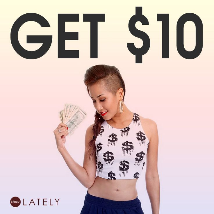 Receive $10 credit when you sign up with Facebook & $5 if you share your link and your friends sign up! The credits can be applied towards shipping too making it 100% FREE!