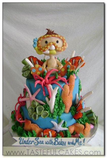 23 Best Images About Diving Cakes On Pinterest Scuba