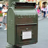 "Send Yourself a Postcard | 19 Magical Ways To Remember Your Disney Vacation Pro Tip: You can send mail from a real mailbox on Main Street USA at Magic Kingdom and it will be post marked from ""Disney World""!"