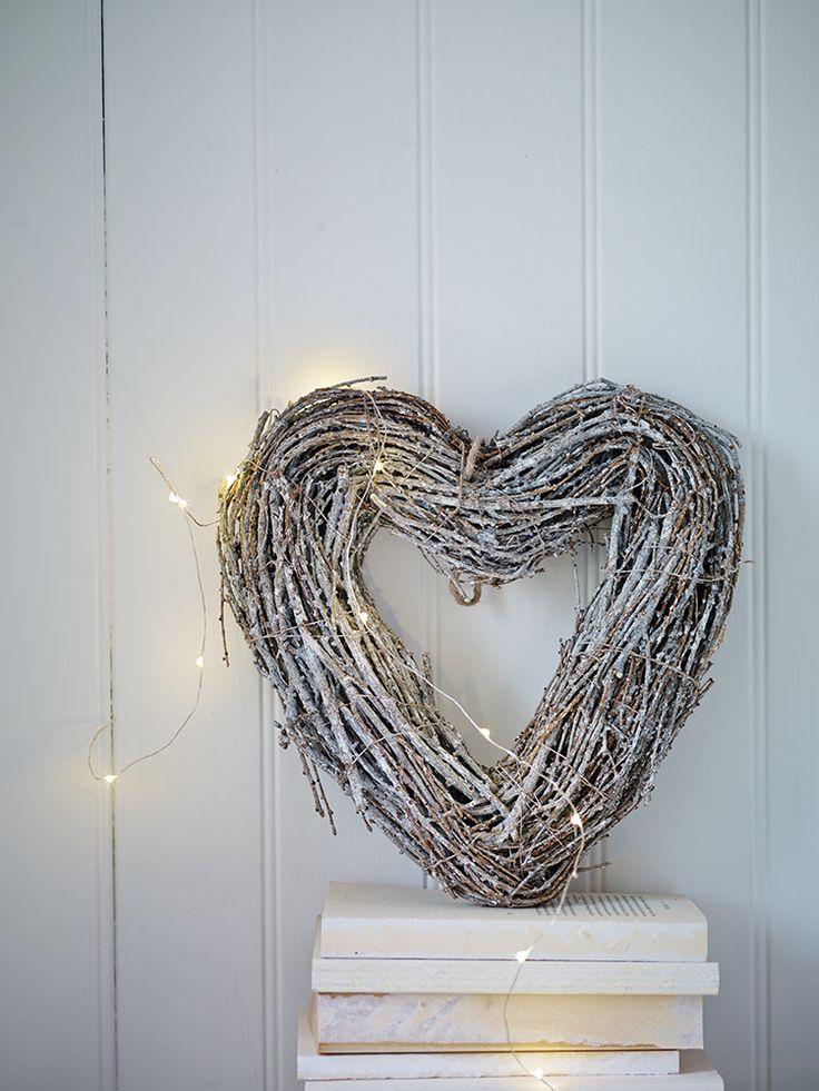 Heart Twig Wreath - Small  http://www.coxandcox.co.uk/heart-twig-wreath