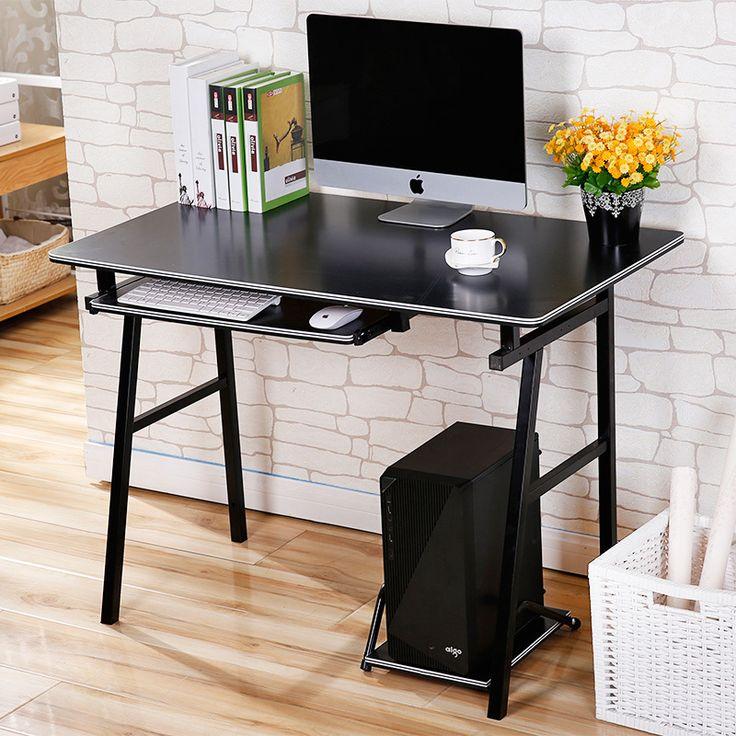 Малый белый / черный стол компьютерный стол стол континентальный длиной 60 / 80 / 100 / 120 см легко обучения столкупить в магазине yuan  furniture  shopнаAliExpress