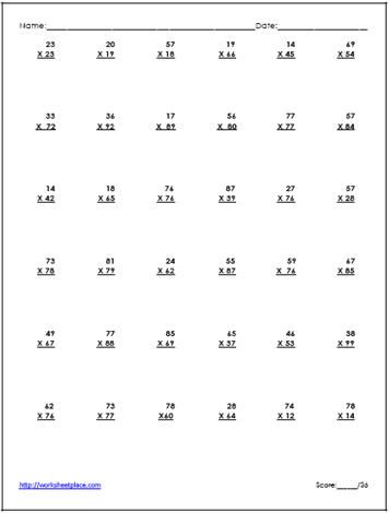 34 best j-IEP images on Pinterest Teaching math, Teaching ideas - long multiplication worksheets