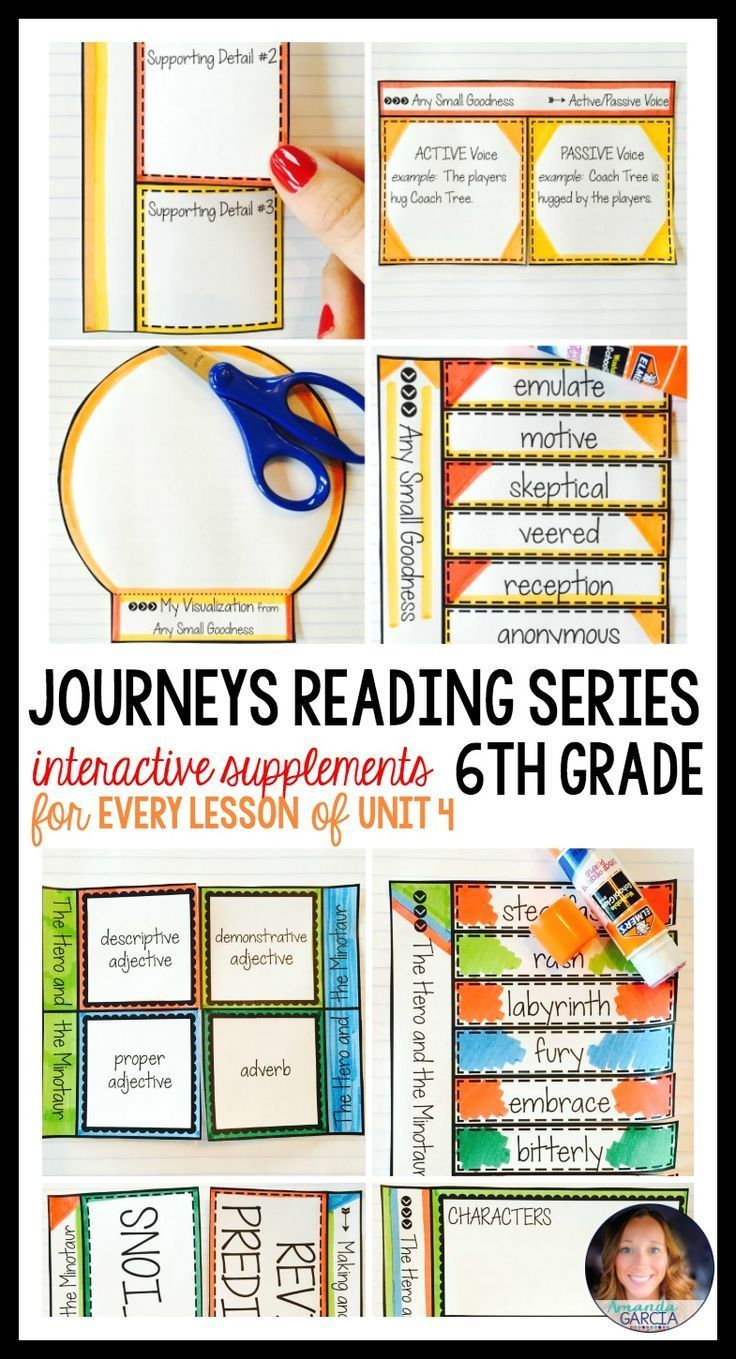 Sixth grade students LOVE these FUN interactive notebook supplements and printable worksheets! This unit is aligned to the Journeys reading series, Unit 4, for 6th grade. Stories include: The Real Vikings, The Emperor's Silent Army, The Hero and the Minotaur, The Princess Who Became a King, and Bodies from the Ash.