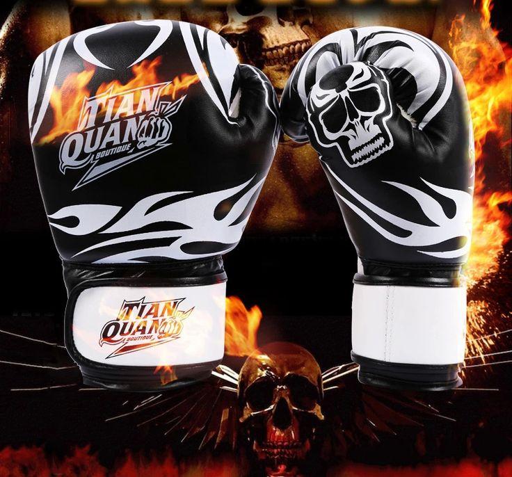 Мма кожа борьба бокс перчатки luva муай тай тайский каратэ удар бокс luva boxe 10 oz взрослые саньда кулак вентиляция