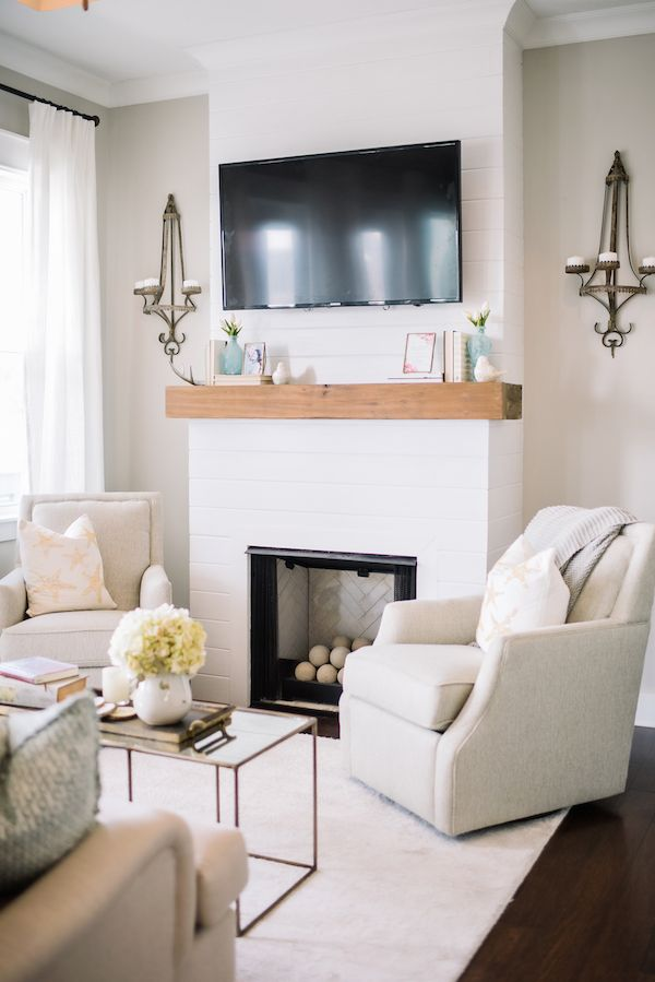 Simple Living Rooms With Fireplace best 25+ tv above fireplace ideas on pinterest | tv above mantle
