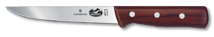 Victorinox Rosewood Boning Knife Straight Wide Stiff 6 inch