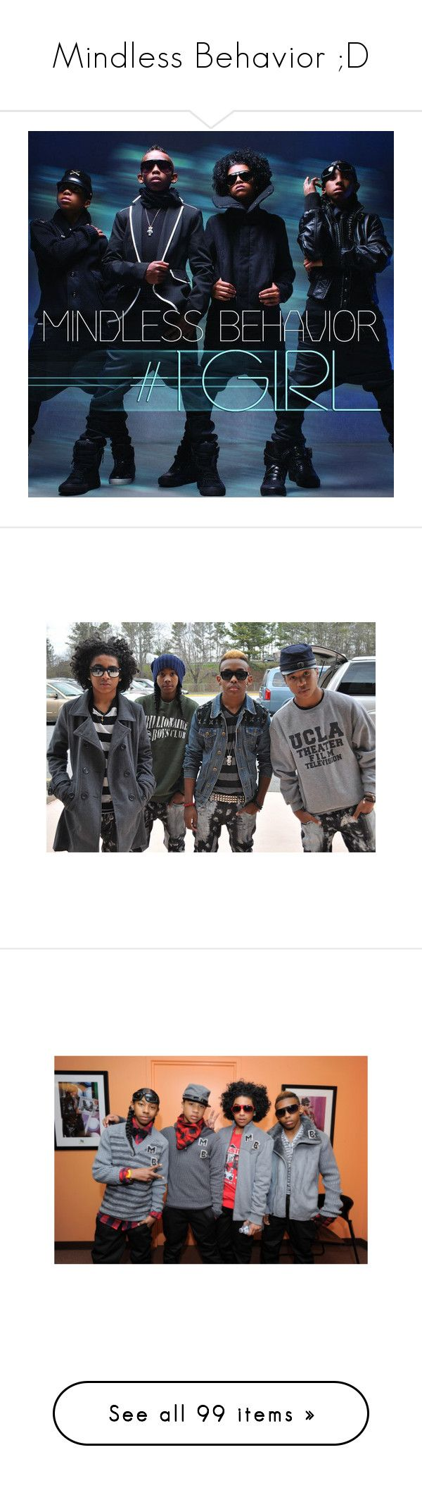 """Mindless Behavior ;D"" by andr3a-anon ❤ liked on Polyvore featuring mindless behavior, mb, pictures, people, pics, boys, omg girlz, home, home decor and accessories"