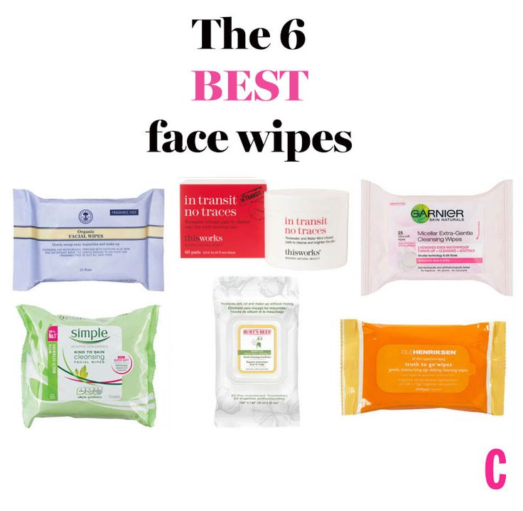 The most effective face wipes