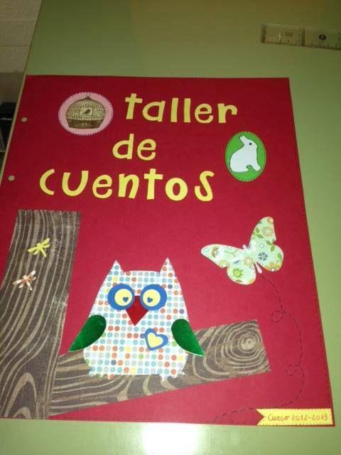 Portada de cuentos inventados por niños
