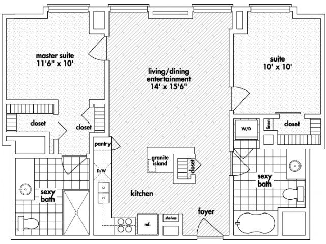 16 Best Images About Floor Plans For Mda City Apartments On Pinterest Studios Decor And 2d
