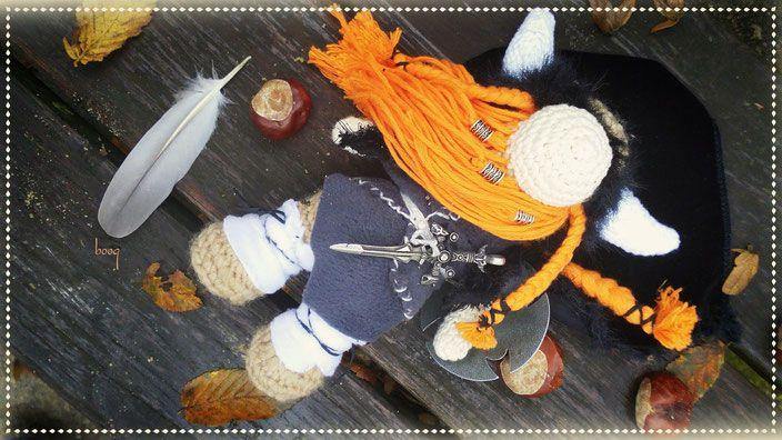 viking amigurumi wiking häkeln crochet