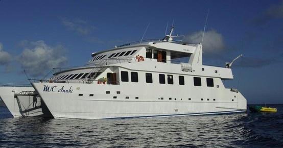 アナイ号は、エクアドルのグアヤキルで建造された木製仕立ての優雅なカタマラン船です。広々としたラウンジエリア、TVとDVD付きのライブラリールーム、バー、ジャクジーやサンデッキを備えています。