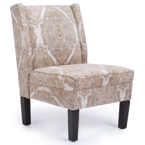 Ibiza wing back chair from z gallerie living room ideas for Z gallerie living room chairs