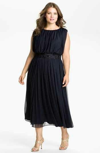 Evening dress.
