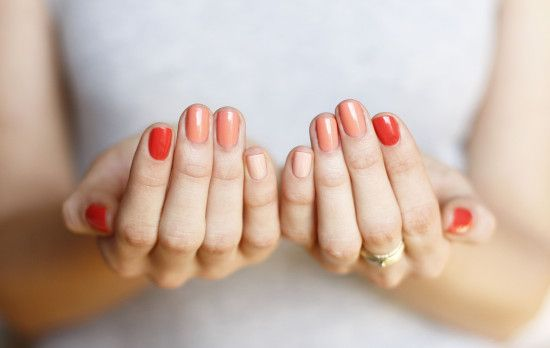 Ombre Nails February 2012