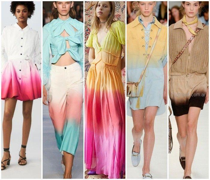 Tendencias de moda primaveraverano 2020