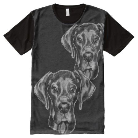 Great Dane T-Shirt with original artwork - click to get yours right now!