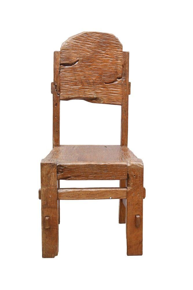 Komodo Simplistic Wooden Chair (ICHA 04)