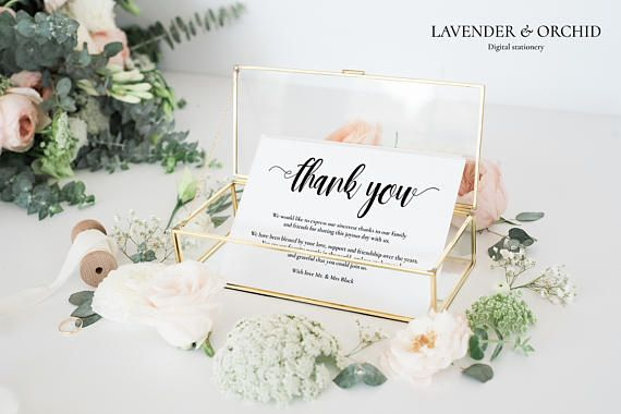 Thank you card template Printable thank you cards thank you