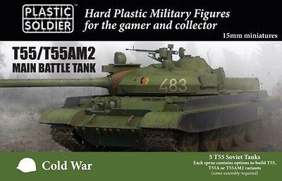 Flames of War 113523: Plastic Soldier Company: Cold War T55 T55am2 Mbt Modv15001 Free Shipping -> BUY IT NOW ONLY: $33.96 on eBay!
