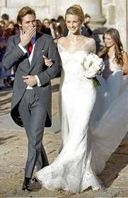 Resultado de imagen de vestidos de bodas famosas