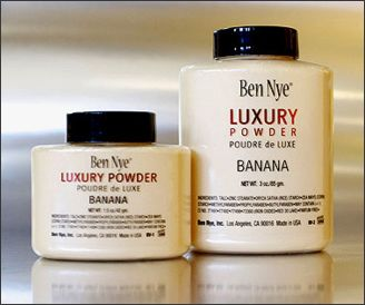 "Ben Nye ""Banana"" Luxury Powder Shaker Bottle, 3 oz 
