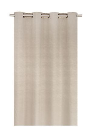 """This lined, eyelet plain curtain has a beautiful texture that easily supports any lifestyle. The versatility of this curtain with its clean styling will suit any interior giving your living space a warm and welcoming feel.<div class=""""pdpDescContent""""><BR /><BR /><b class=""""pdpDesc"""">Fabric Content:</b><BR />100% Polyester<BR /><BR /><b class=""""pdpDesc"""">Wash Care:</b><BR>Lukewarm machine wash</div>"""