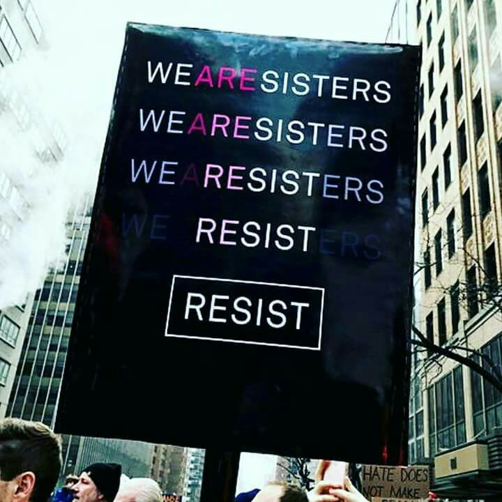 WeAreSisters-- I'm not going to lie, the first thing I read was We Registers and I was very confused