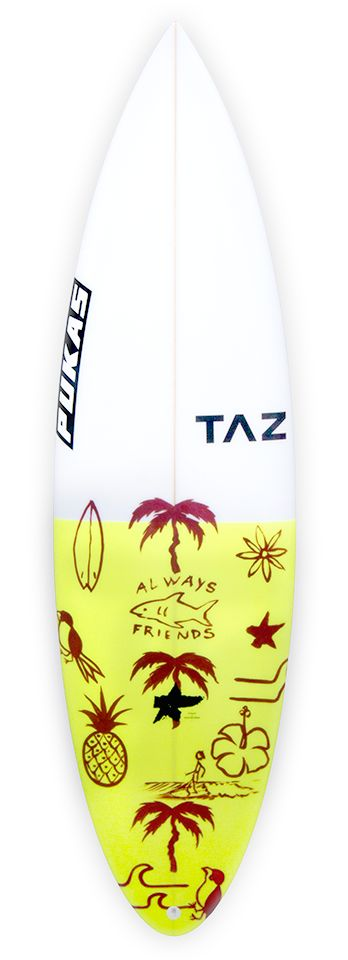 Pukas Surf Surfboards AA Battery shaped by Taz