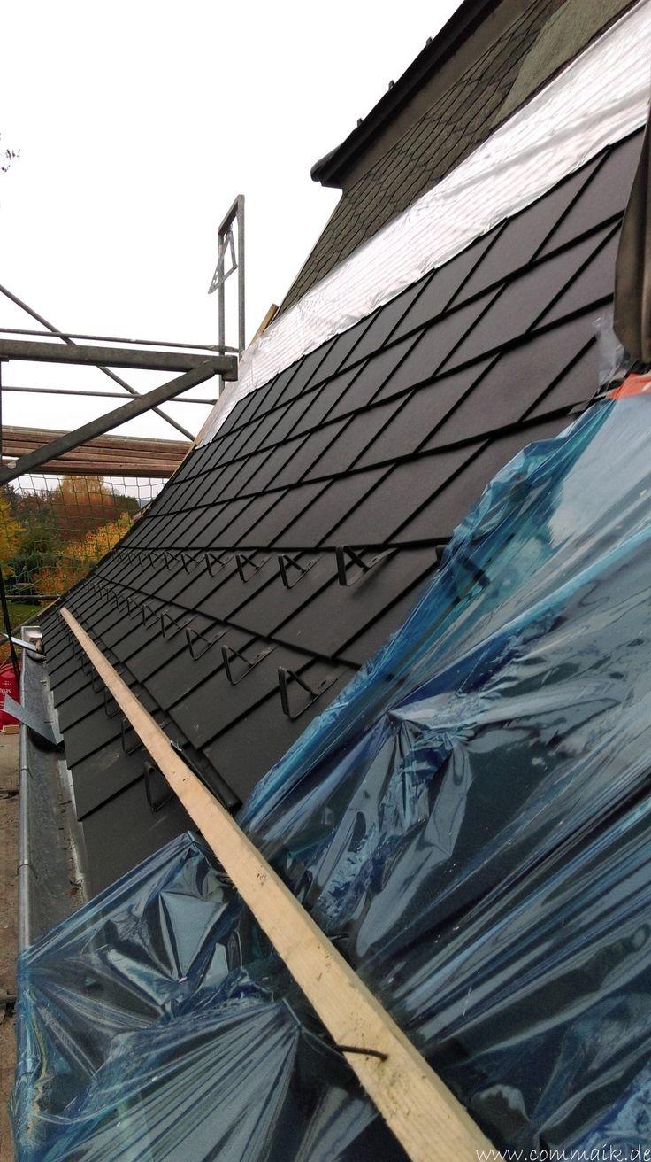 Der PREFA Stier kommt auf das Dach (mit Bildern) Dach