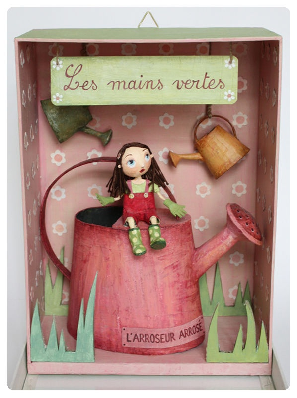 les mains vertes / green thumb by Chloé Rémiat